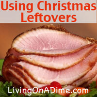 Using Christmas Leftovers