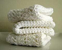 white cotton cloths