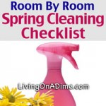 Room By Room Spring Cleaning Checklist - Speed Cleaning Ideas