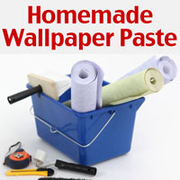 homemade wallpaper paste cornstarch