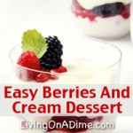Berries And Cream Dessert