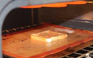 broiling homemade cinnamon toast