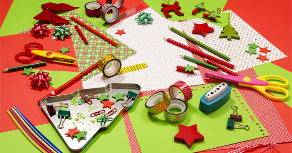 Turn School Supplies Into Christmas Gifts