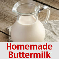 Homemade Buttermilk Recipe