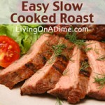 beef slow cooked roast recipe