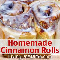 Homemade Cinnamon Rolls Recipes And Ideas
