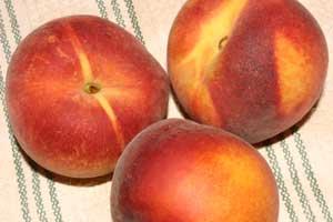 peach crisp english muffins