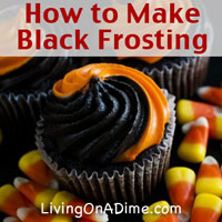 How to Make Black Frosting