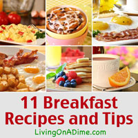 Delicious Breakfast Recipes