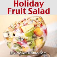 Holiday Fruit Salad Recipe