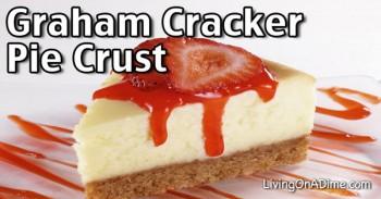 Homemade Graham Cracker Pie Crust Recipe