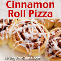 Easy Cinnamon Roll Pizza Recipe