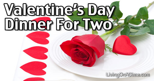 Valentine 39 s day dinner for two easy menu and recipes for Valentine day dinner recipe