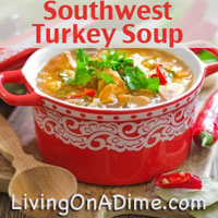 Southwest Turkey Soup Recipe