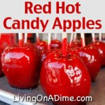 Red Hot Candy Apples Recipe