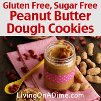 Sugar And Gluten Free Peanut Butter Dough Cookies Recipe