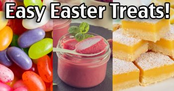 Easter Treat Recipes - Lemon Bars, Strawberry Mousse and More!