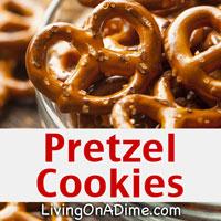 Easy Pretzel Cookies Recipe