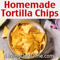 Homemade Fried Tortilla Chips Recipe