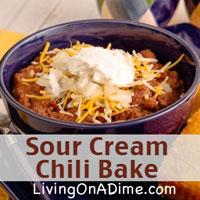Sour Cream Chili Bake Recipe