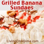 Grilled Banana Sundaes Recipe