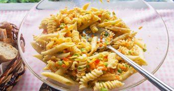 Pasta Veggie Fruit Salad Recipe