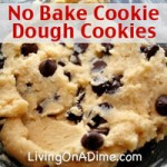 No-Bake Cookie Dough Cookies