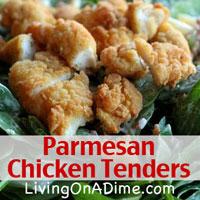 Parmesan Chicken Tenders Recipe