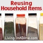 Ideas For Reusing Common Household Items