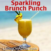 Sparkling Brunch Punch Recipe