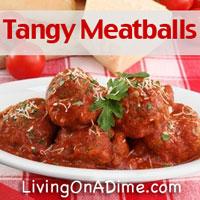 Tangy Meatballs