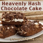 Heavenly Hash Chocolate Cake Recipe