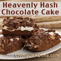 Heavenly Hash Chocolate Cake Recipe