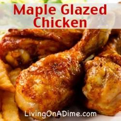 Maple Glazed Chicken Recipe