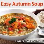 Easy Autumn Soup Recipe