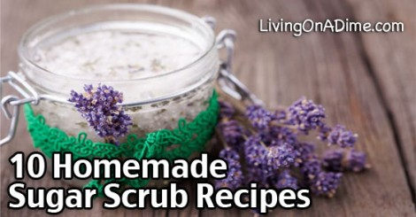 10 Homemade Sugar Scrub Recipes