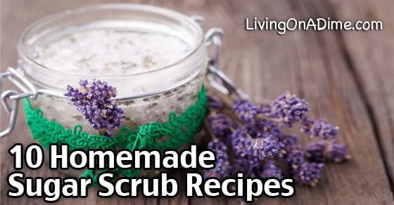 10 Homemade Sugar Scrub Recipes