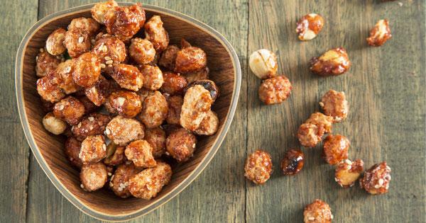 Homemade Sugared Peanuts Recipe