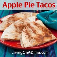 Apple Pie Tacos Recipe