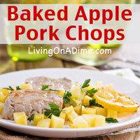 Baked Apple Pork Chops Recipe