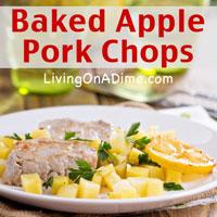 Baked Apple Pork Chops Recipe