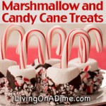 Marshmallow Candy Cane Treats