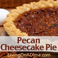 Pecan Cheesecake Pie Recipe