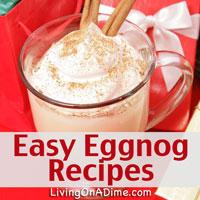 Easy Non-Alcoholic Homemade Eggnog Recipes