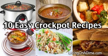 10 Easy Crockpot Recipes and Tips