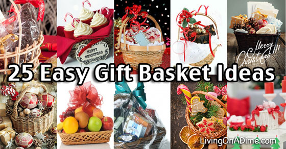 25 easy inexpensive and tasteful gift basket ideas recipes negle Image collections