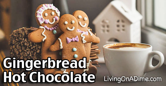 Gingerbread Hot Chocolate And White Chocolate Recipes