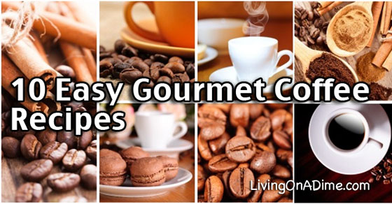 10 Easy Gourmet Coffee Recipes