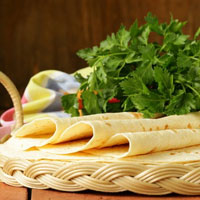 Smoky Almond Cheese Triangles Recipe