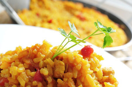 Spicy Rice Casserole Recipe